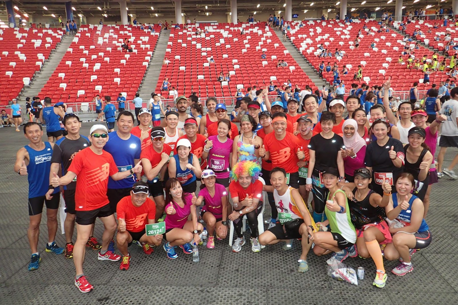 The Straits Times Run @ The Hub 2014