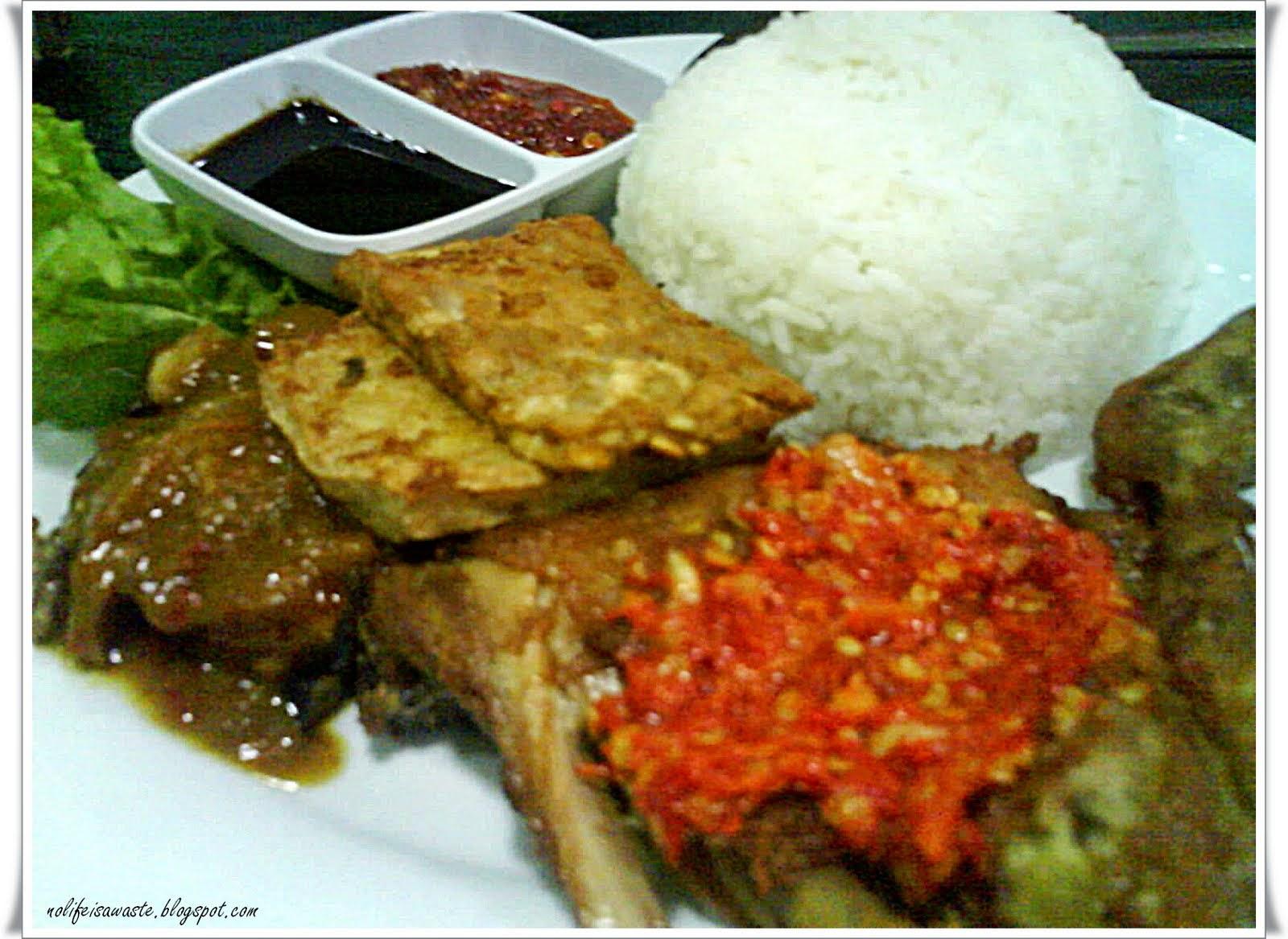 Resepi sambal ayam penyet images for Azian cuisine menu