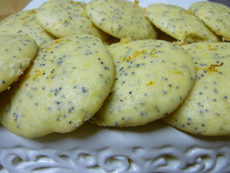Cookin' Cowgirl: Lemon Poppy Seed Cookies