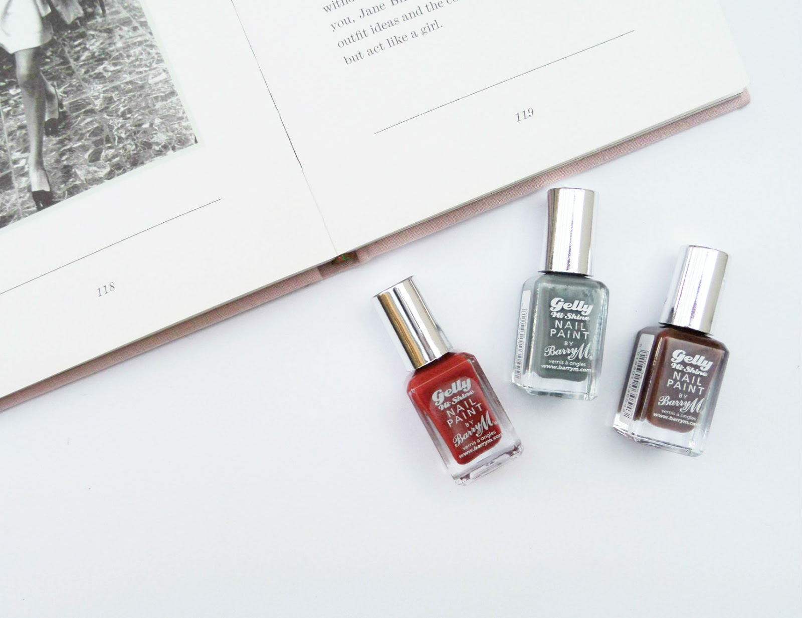 Barry M Gelly Nails Effects - Autumn/Winter 2014 Collection First Impressions