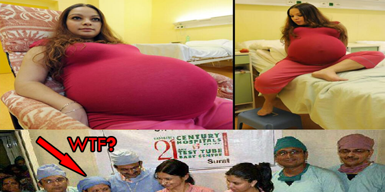 Woman Pregnant With 11 Babies Woman Gave Birth to 11 Babies
