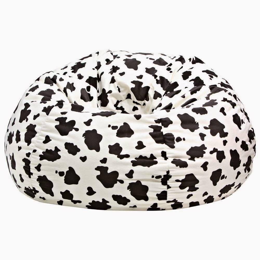 Cow design Toddler bean bag chair