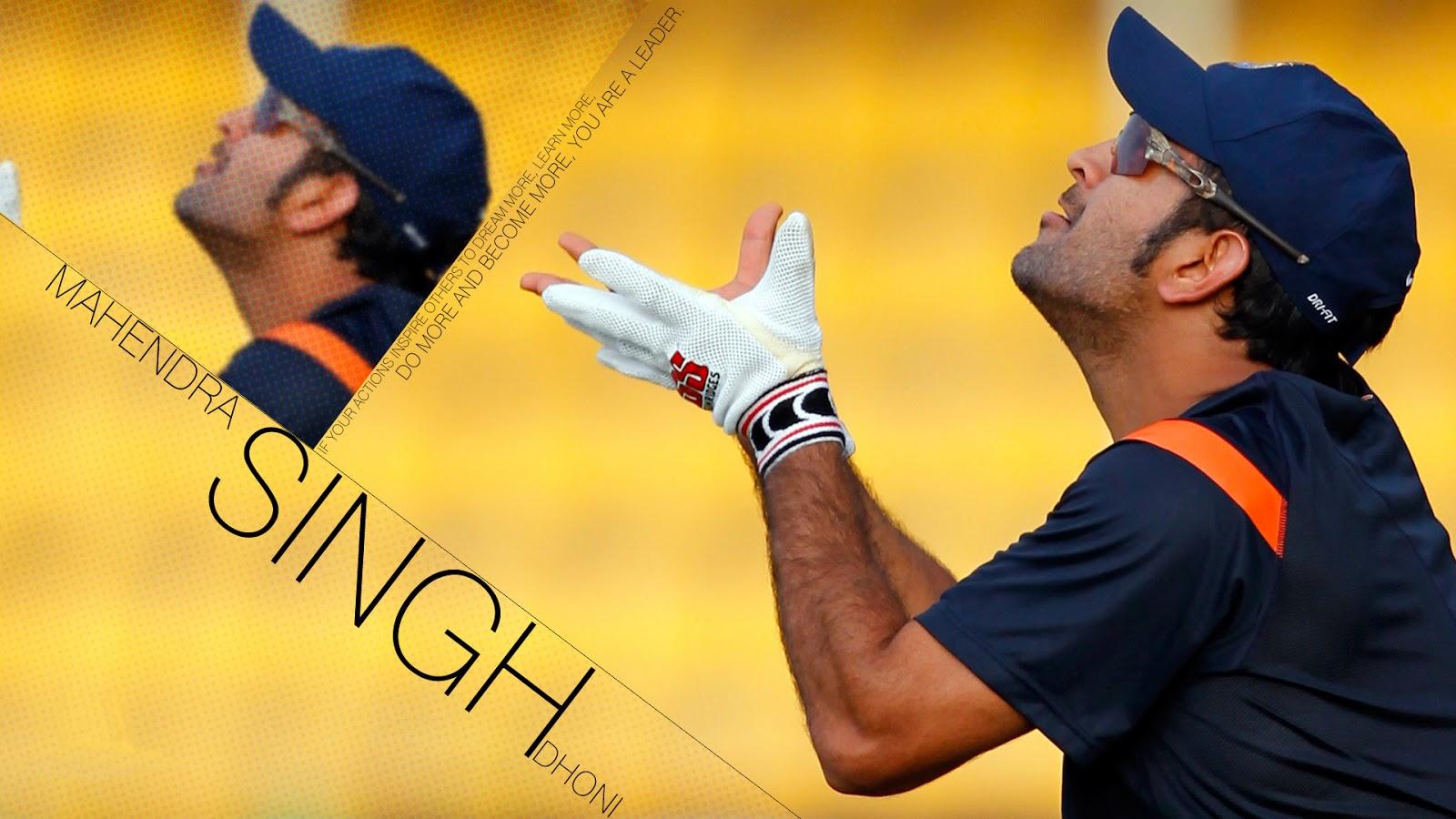 all cricket stars ms dhoni latest hd wallpaper 2013