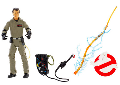 Mattel Matty Collector Ghostbusters Peter Figure with Removable Backpack and Extras