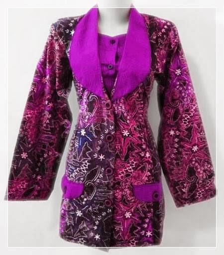 Blouse Batik Resmi 85