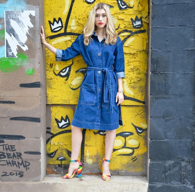 Dani from Mermaid Waves: Chicago's Fashionista