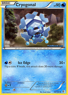 Cryogonal Boundaries Crossed Pokemon Card