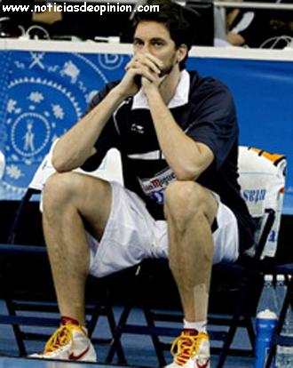 Eurobasket 2011 Turquía gana a España. Pau Gasol lesionado
