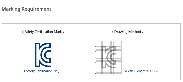 Korea Cerfication (KC mark): KC Certificate(KC Mark)