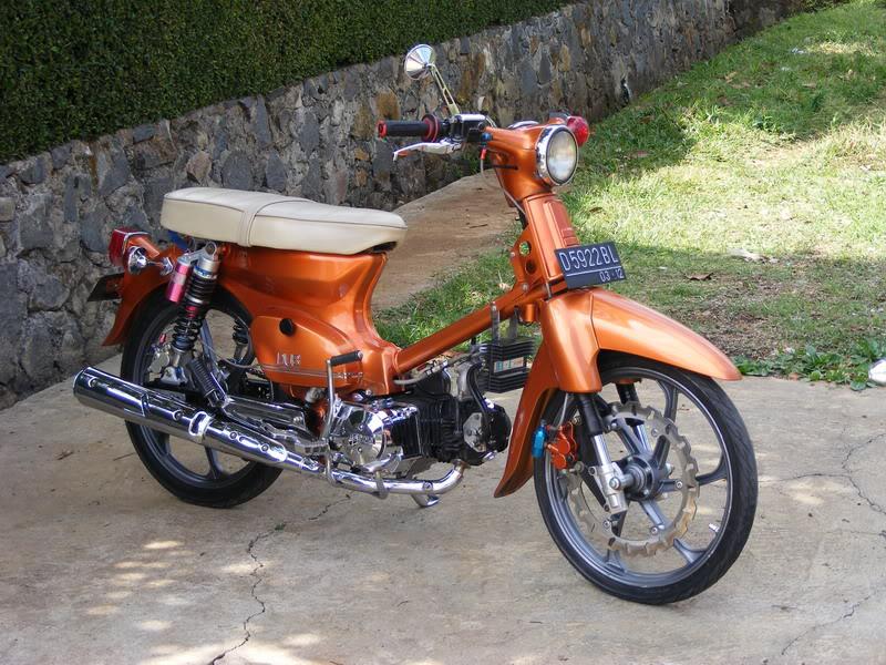 Modifikasi Motor Honda C70 Freewaremini