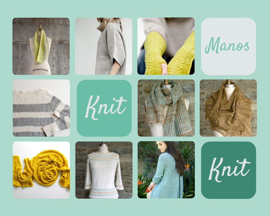 manos knitting patterns