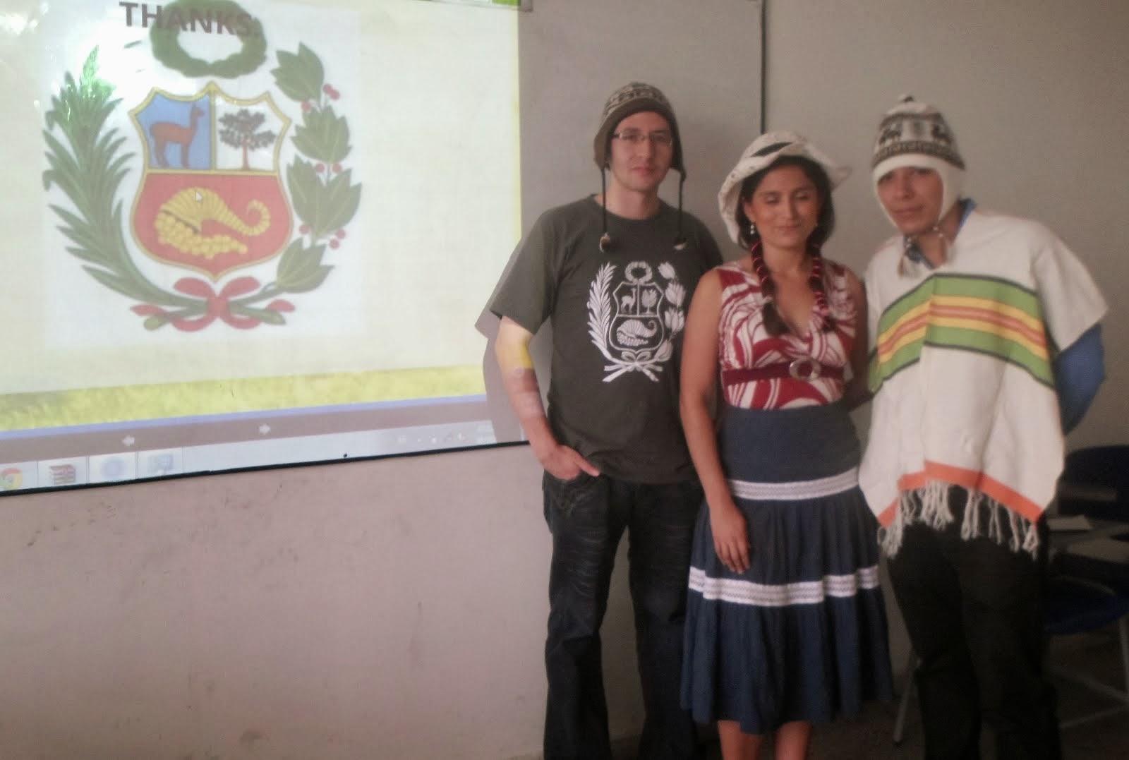 VISITING PLACES (PERU)