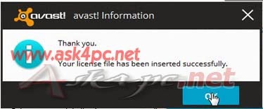 avast 9 license