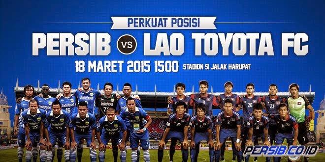 Persib Bandung vs Lao Toyota AFC Cup 2015