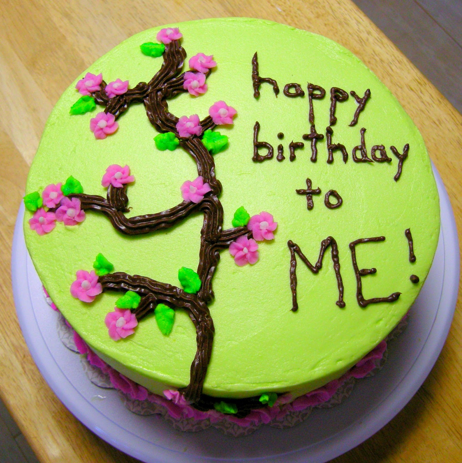 Birthday Cake Image To Me : My Own Birthday Quotes. QuotesGram