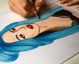 Speed Drawing Gaga!