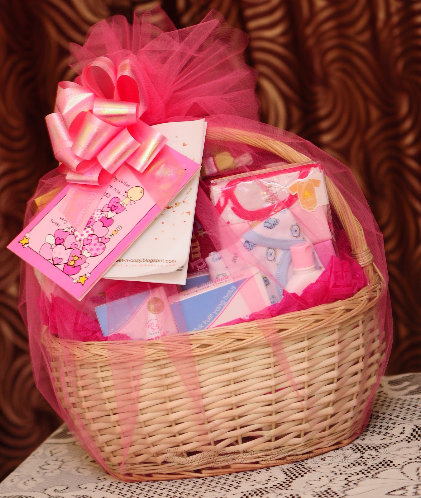 Baby Gift Baskets For Girl : Hampers you baby gift baskets for newborn girl