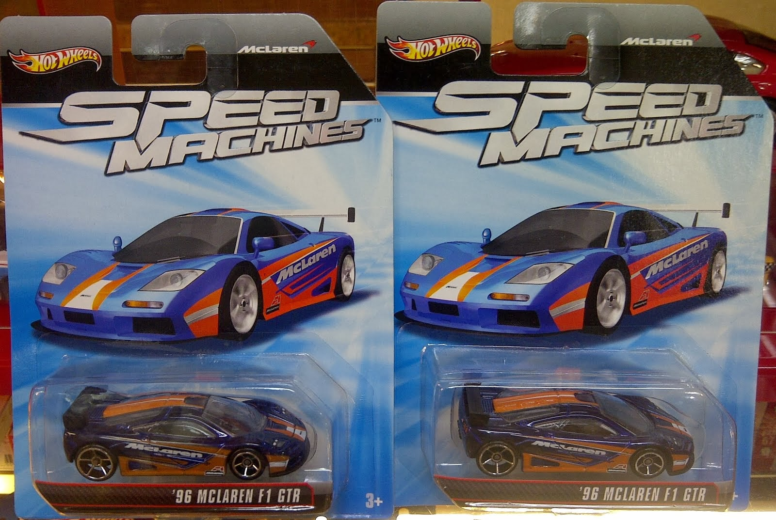HW Speed Machine 96 Mc Laren F1 GTR