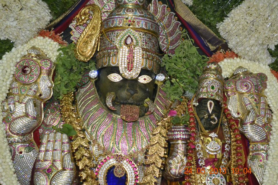 God Lakshmi Narasimha Swamy Wallpapers Photos Goddess God