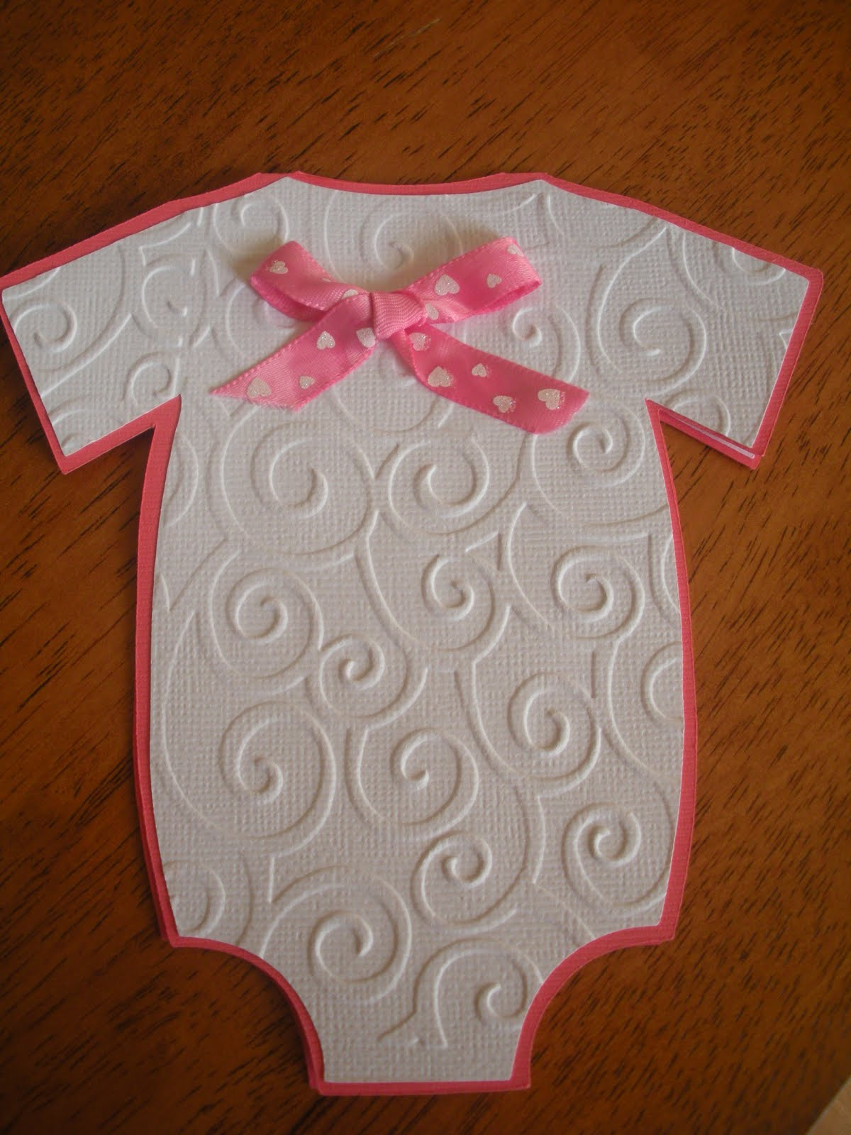 Jenns paper crafts baby shower invitations girl jenn posted by jenns paper crafts filmwisefo
