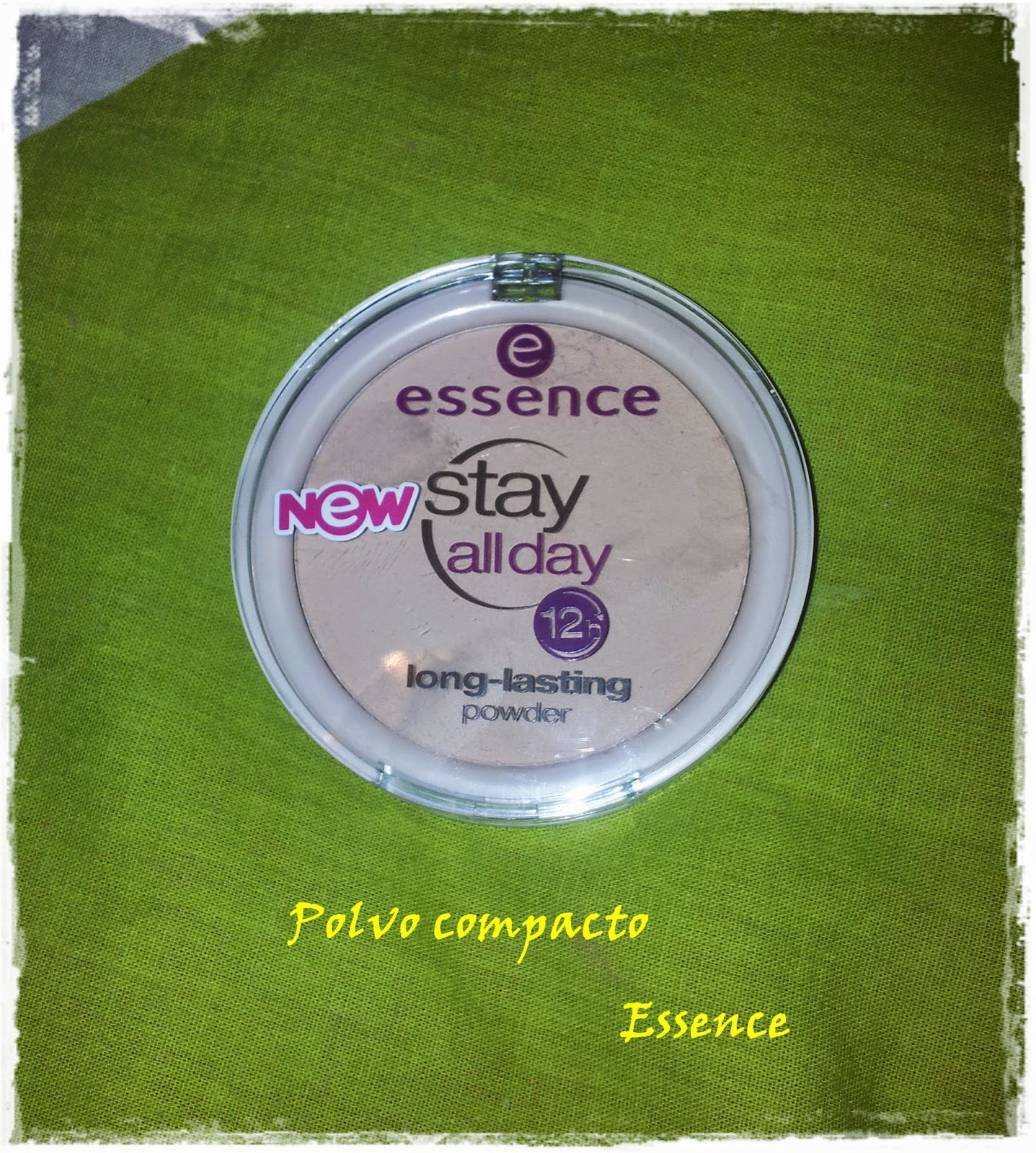 Stay all day long lasting powder de Essence
