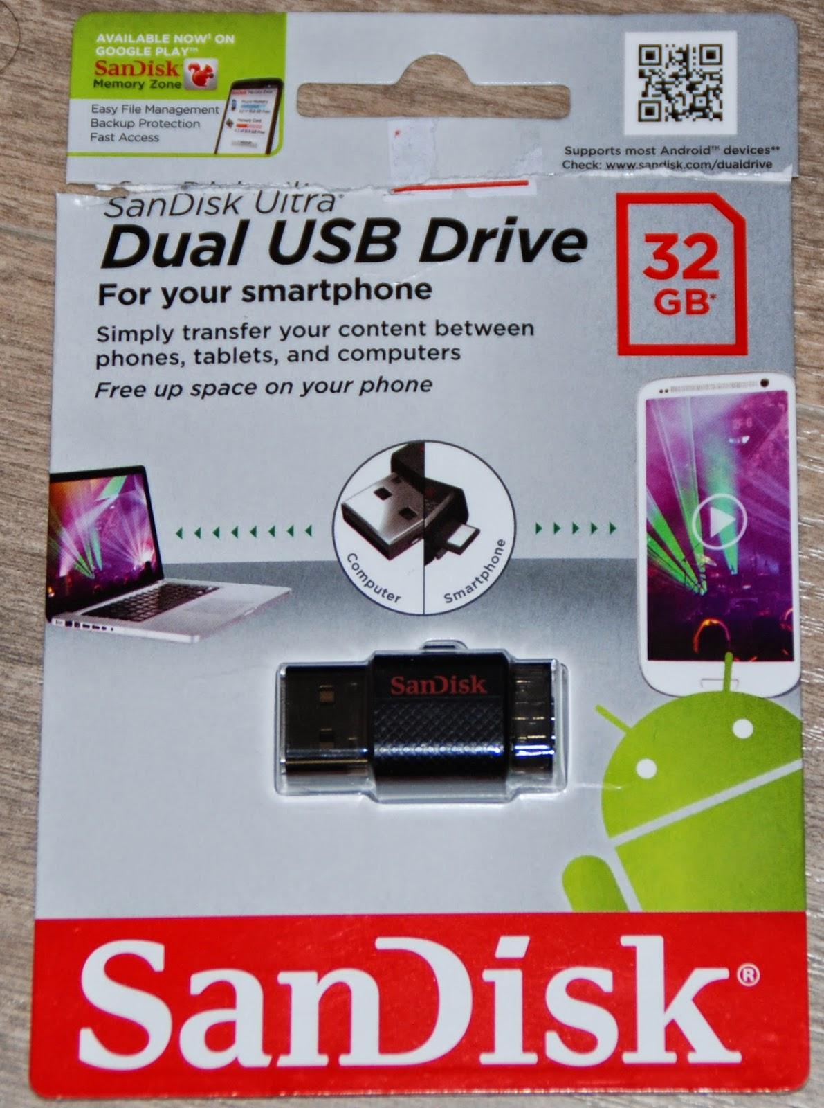 Sandisk Dual USB Drive