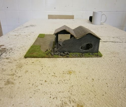 Making Stalingrad Ruined Factory Two Pictures 11