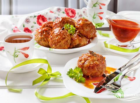 Oszukane Gołąbki w sosie pomidorowym- bez zawijania