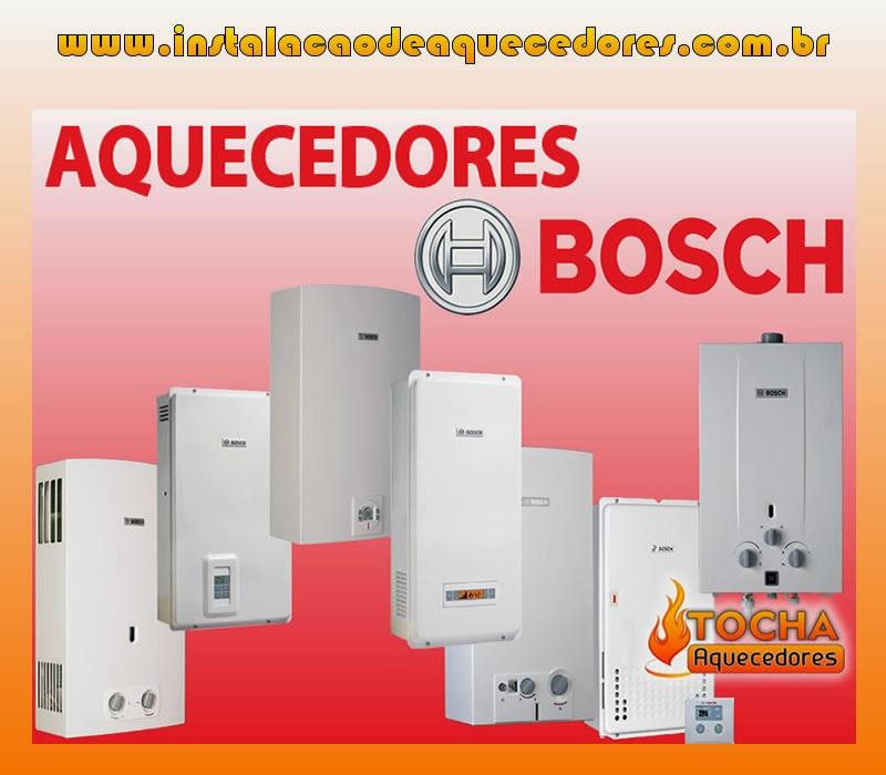 Instalação Aquecedores Bosch
