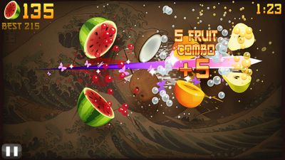 Fruit Ninja Symbian games