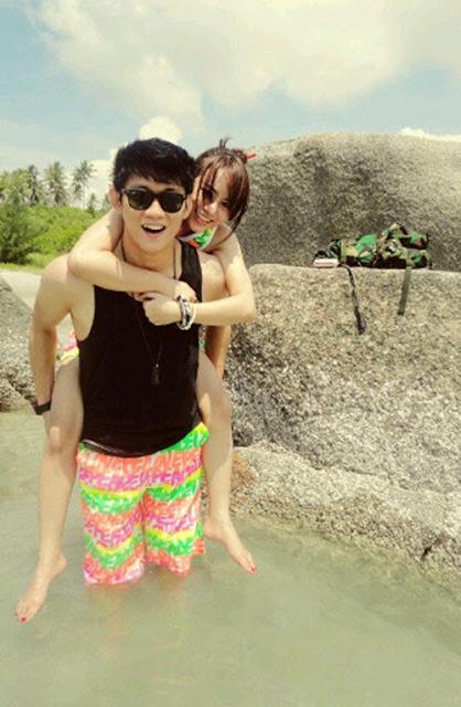 Foto-Foto Hot Ivan Seventeen dengan Pacarnya