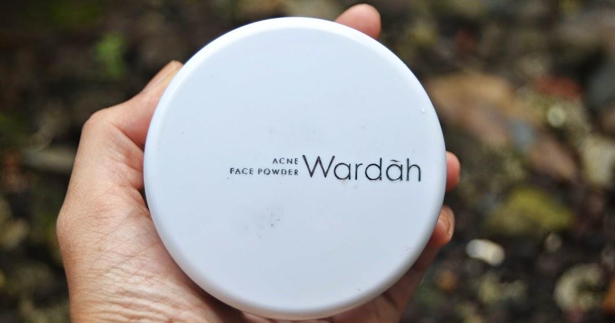 Review Bedak Tabur Wardah Face Powder Acne Series