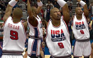 NBA 2K13 Dream Team USA Home Jersey Mod
