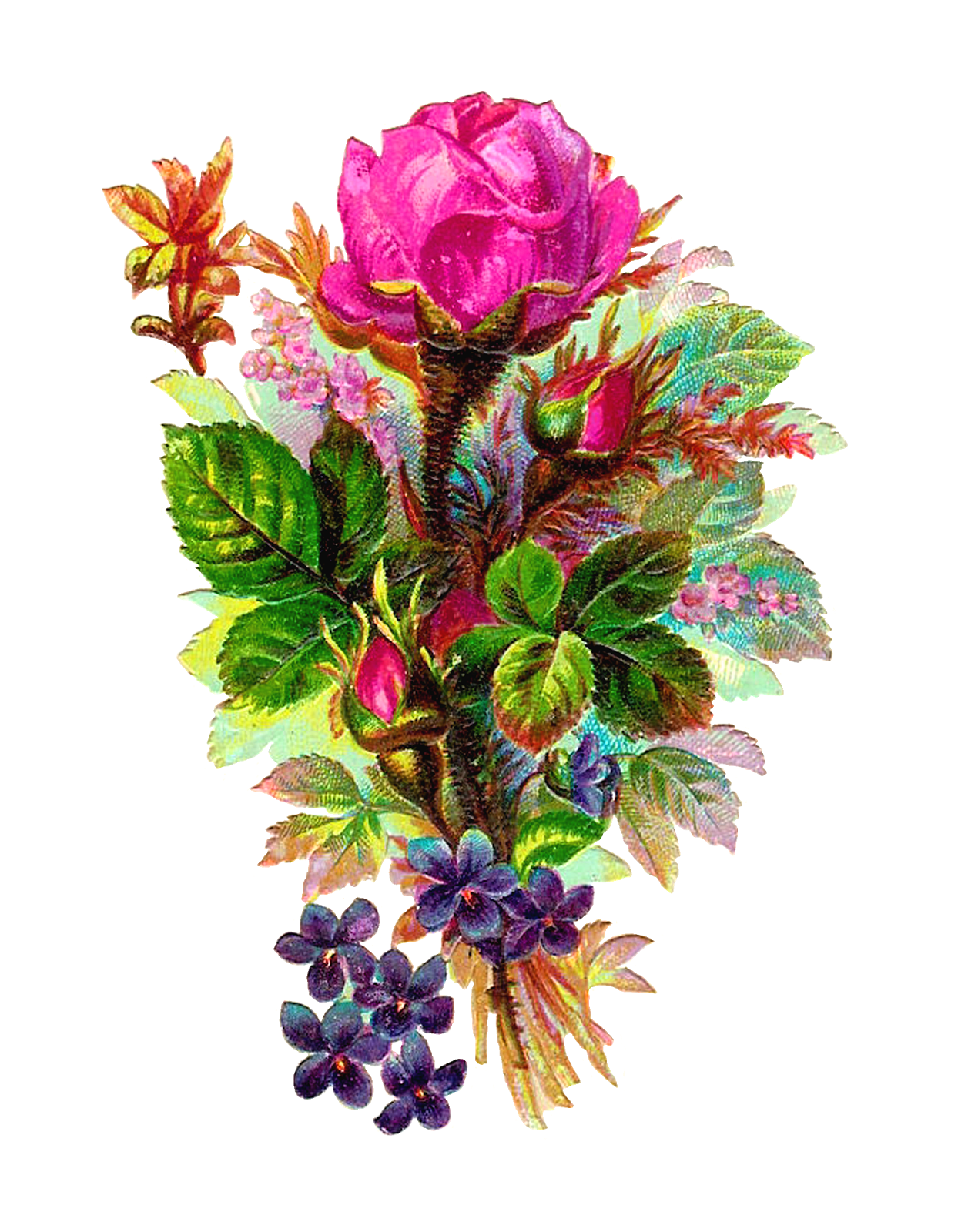 Bouquet Of Flowers Clip Art Images