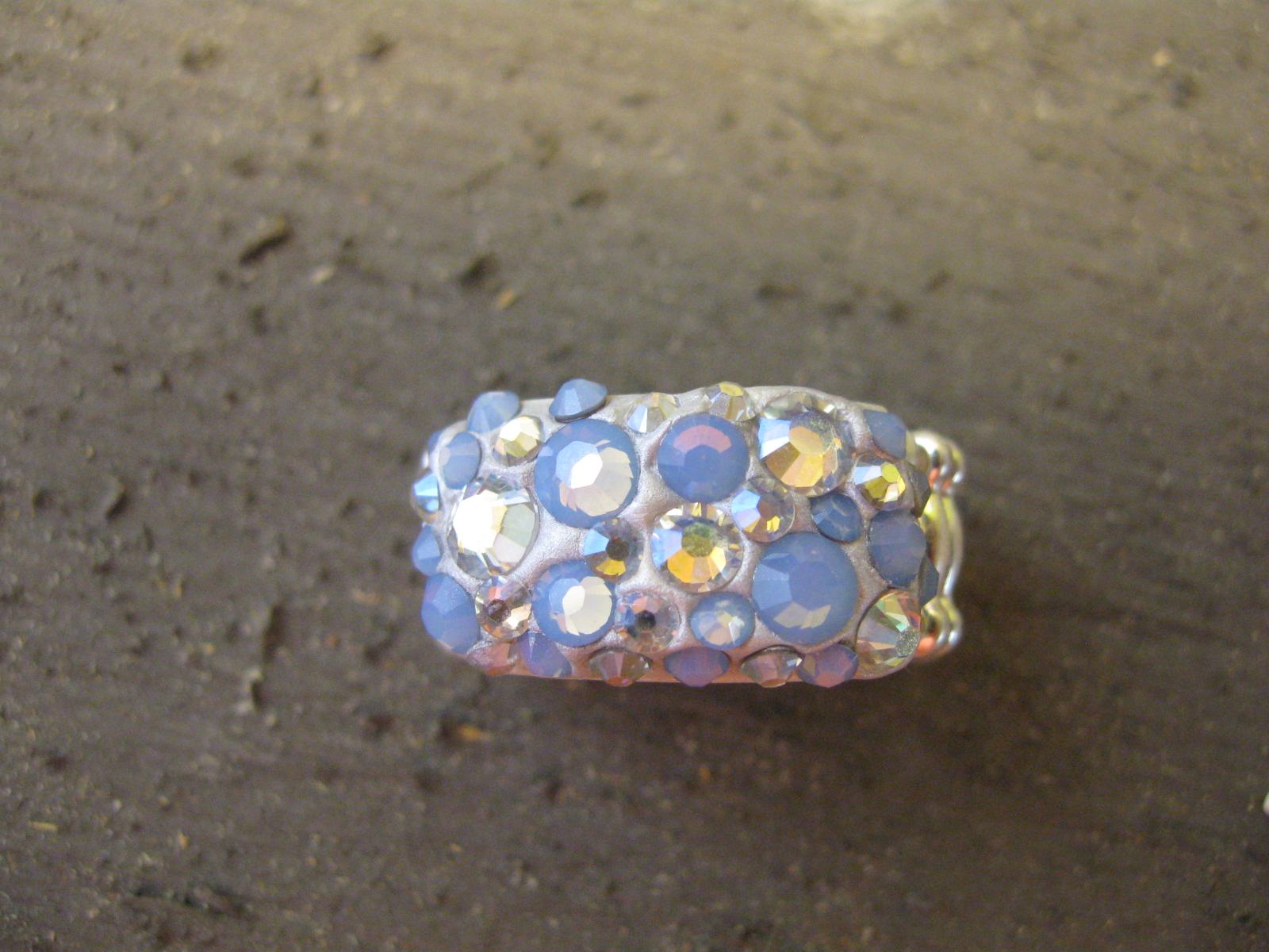 Craft Klatch ®: Crystal Jewelry Clay Ring Craft Tutorial