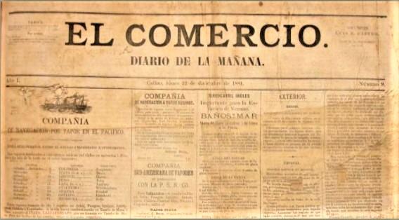 EL COMERCIO FUNDADO POR LOS CHILENOS