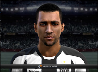 face PES 2012: Face Pierre do Atlético MG