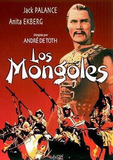 OS MONGOIS - THE MONGOLS - 1961