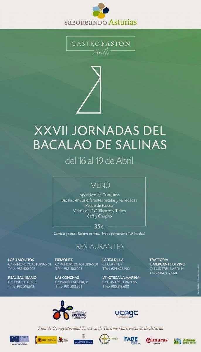 Blue hoteles xxvii jornadas del bacalao en salinas del 16 al 19 de abril - Hotel salinas asturias ...