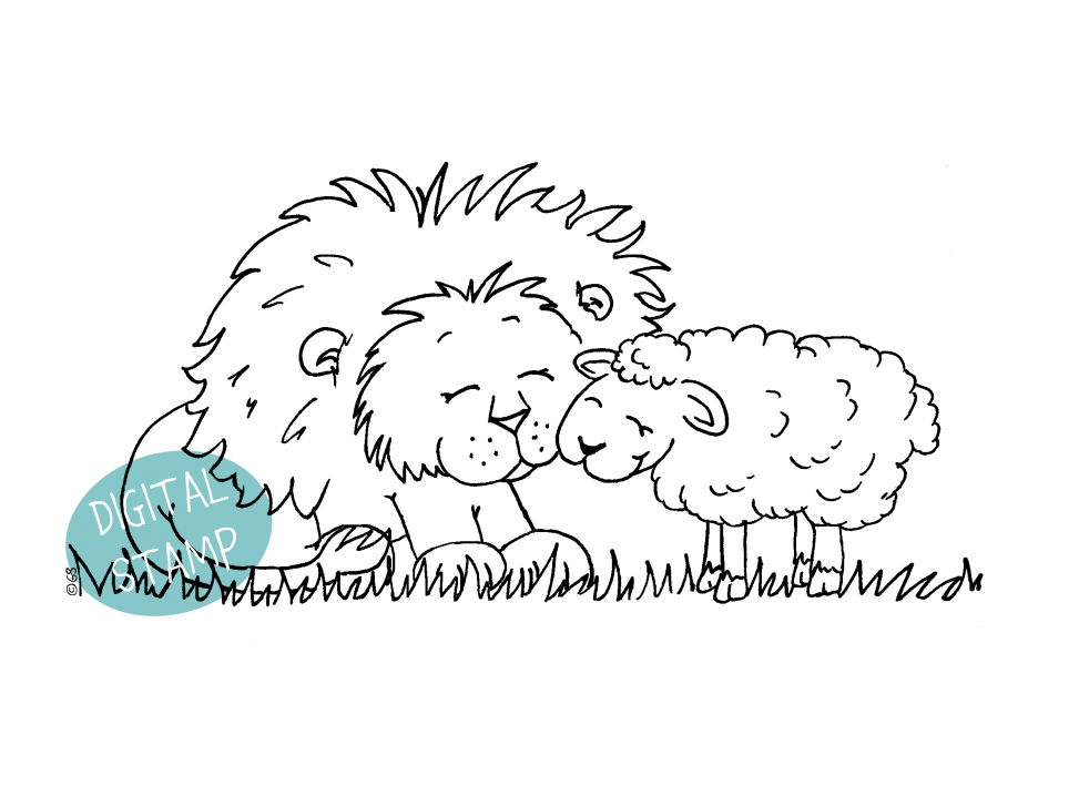 http://gerdasteinerdesigns.com/new-products/lion-and-lamb-digital-stamp