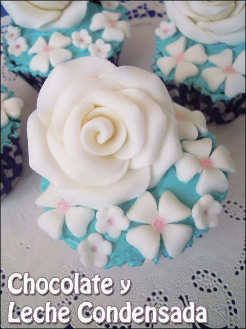 Cupcakes de Chocolate y Leche Condensada