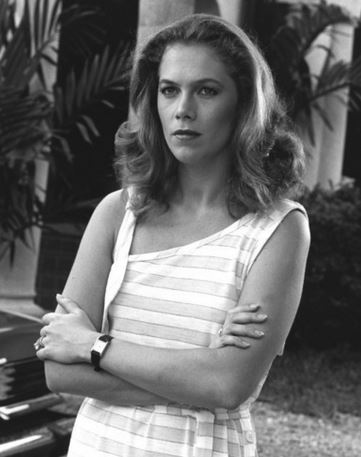 "Actress Kathleen Turner in 1981 film noir ""Body Heat"". Click on image:"