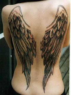 Tatoos y Tatuajes de Alas, parte 3