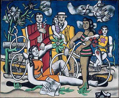 Fernand Léger - Les loisirs hommage à Louis David, 1948-1949