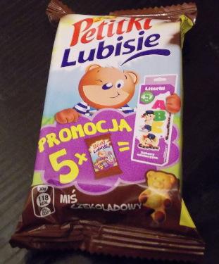 Posypana cukrem: Petitki Lubisie czekoladowe Lubisie Producent