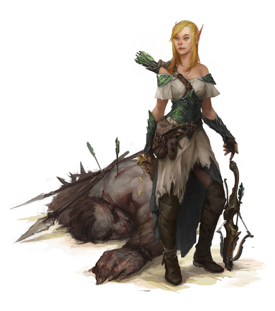 Elven female exploited images