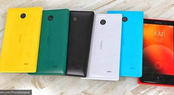 Inilah Bentuk Ponsel Android Nokia