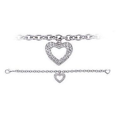 Swarovski Bracelet Heart2
