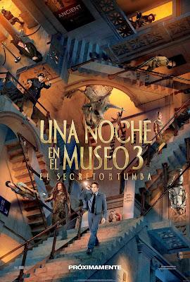 Una Noche en el Museo 3 (2014) Dvdrip Latino [Comedia]
