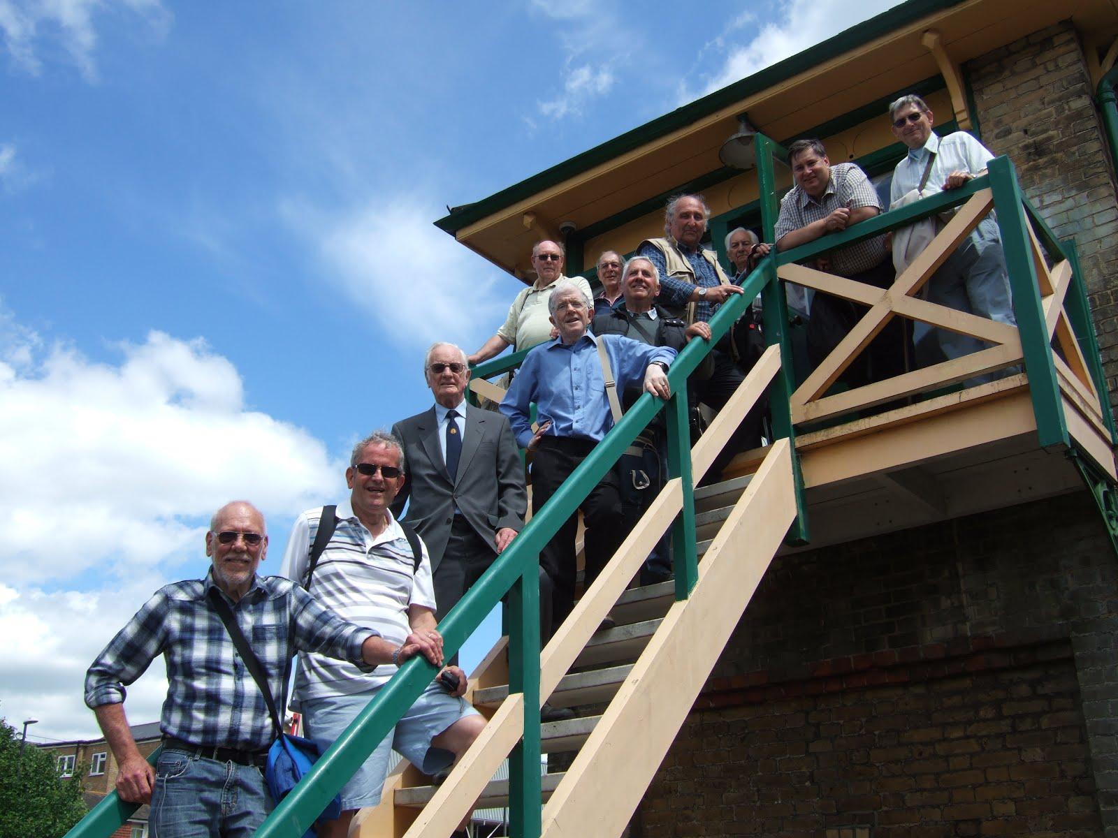 Society Visit to Crawley Signal Box